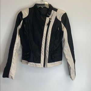 Blank NYC Leather Jacket Size L